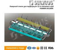 Лазерный станок для перфорации 12-ти метровых труб SEKIRUS P2606M-241200N Raycus 2000 Вт